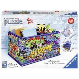 Puzzle 216 dílků Úložná krabice Graffiti