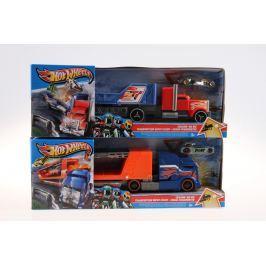 Mattel Hot Wheels havarující tahač