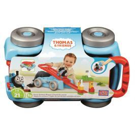 Mattel Mega Bloks Mašinka Tomáš vagón s rukojetí 2v1 Pro kluky