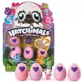 Hatchimals sběratelská zvířátka ve vajíčku čtyřbalení s bonu