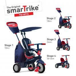 Tříkolka Smart Trike 4 v 1 Shine červená