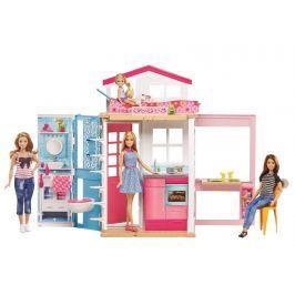 Mattel Barbie dům 2v1 a panenka Pro holky