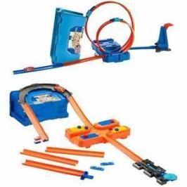 Hot Wheels track builder v kufříku - 2 druhy Pro kluky