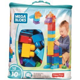Mega Bloks FB pytel kostek (80) Stavebnice a puzzle