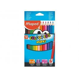Pastelky trojboké Maped Jumbo Color' Peps 12 ks,BL