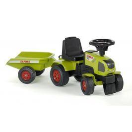 Falk Odstrkovadlo - traktor Claas s volantem a valníkem