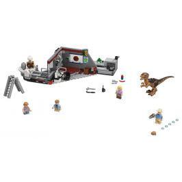 Lego Jurassic World Jurassic Park Velociraptor Chase Stavebnice Lego