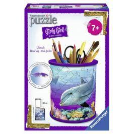 Puzzle 3D Stojan na tužky Podvodní svět 54 dílků Stavebnice a puzzle