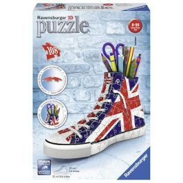 Puzzle 3D Kecka Union Jack 108 dílků Stavebnice a puzzle