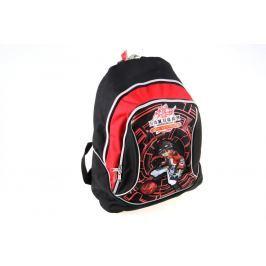 Alltoys CZ Batoh Bakugan černo/červený malý Dětské batohy a kapsičky