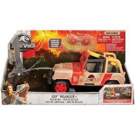 Matchbox jeep se sítí Jurský svět