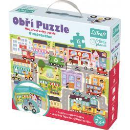 Puzzle Giga Město Stavebnice a puzzle