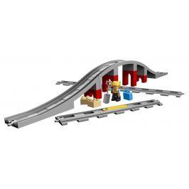 LEGO® DUPLO® Lego Duplo Doplňky k vláčku – most a koleje