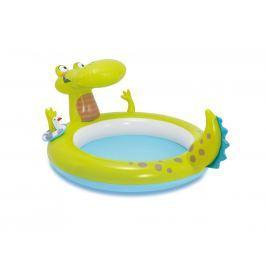 Intex Bazének krokodýl s vodopádem 198x160x91cm