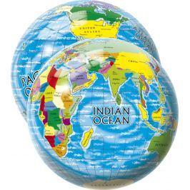 Alltoys Míč Mapa světa 23 cm