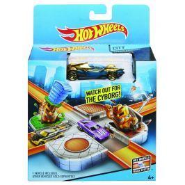 Mattel Hot Wheels set honička ve městě
