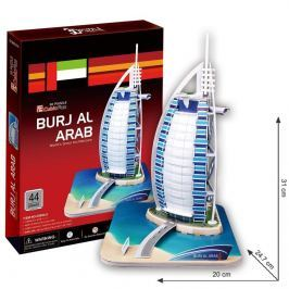 Puzzle 3D Burj Al Arab - 44 dílků