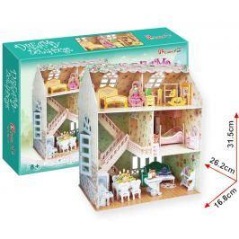 Puzzle 3D Domek snů pro panenky – 160 dílků