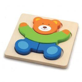 Puzzle medvěd dřevěné