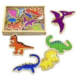 Studo Wood Magnetky dinosaurus dřevěný 20 ks