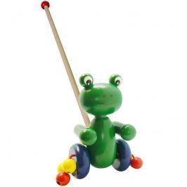 Studo Wood Žába dřevěná na tyči
