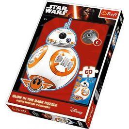 Puzzle Star Wars svítící ve tmě 60 dílků