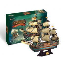 Puzzle 3D Loď The Spanish Armada San Felipe