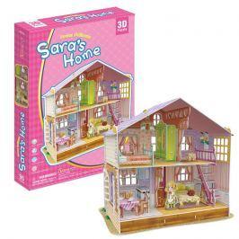 Puzzle 3D Dům pro panenky Sara's Home