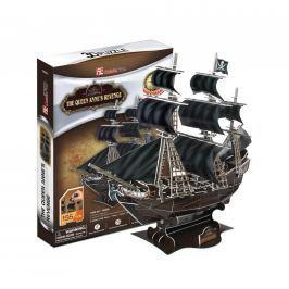 Puzzle 3D The Queen Anne's Revenge 155 dílků