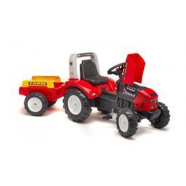 Falk Traktor šlapací Lander 240X s valníkem červený