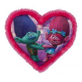 Polstářek Troll ve tvaru srdce