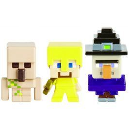 Mattel Minecraft 3ks minifigurka Pro kluky