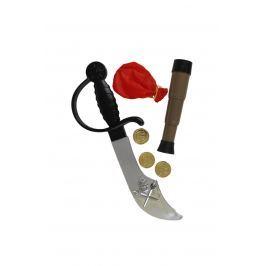 Pirátská šavle s doplňky
