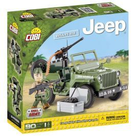 Cobi Jeep Willys MB zelený