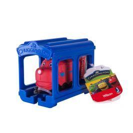 EPline Chuggington - mašinka s garáží