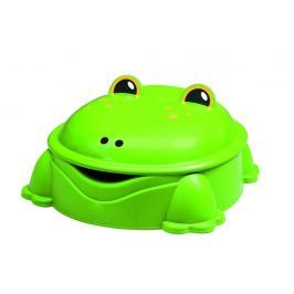 Pískoviště žabá zelené s víkem
