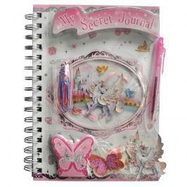 Deník s příslušenstvím