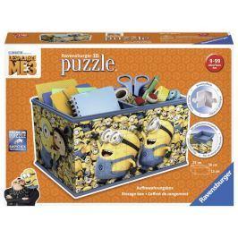 Puzzle Úložná krabice Mimoňové 216 dílků: Já Padouch 3