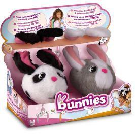 Bunnies plyšový králíček s magnetky 2 ks