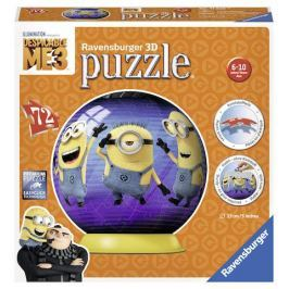 Puzzle Mimoňové 72 dílků: Já Padouch 3 puzzleball