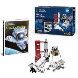Puzzle 3D Vesmírná mise NG - 80 dílků