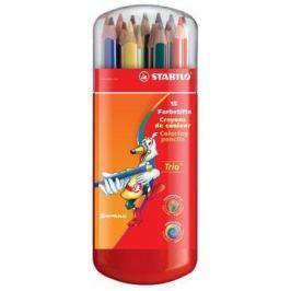 STABILO TRIO silne pastelky 15ks
