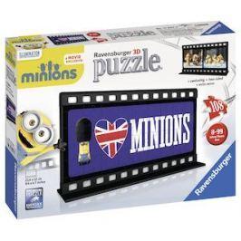 Puzzle Mimoňové Filmová páska 108 dílků britská