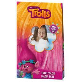 Koupelové pěnové tablety barevné Troll Pro kluky