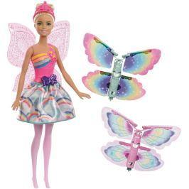 Barbie Barbie létající víla s křídly blondýnka