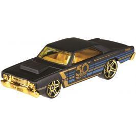 Hot Wheels tématické auto - 50. let výročí black & gold Pro kluky