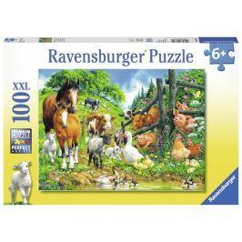 Puzzle Zvířata spolu 100 dílků