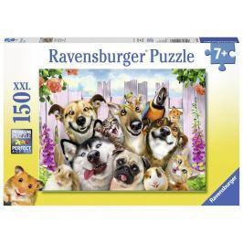 Puzzle Blázniví mazlíčci 150 dílků