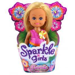 Panenka z Oceanie Sparkle Girlz malá v kornoutku