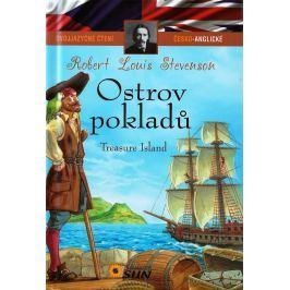 Dvojjazyčné čtení Č-A Ostrov pokladů